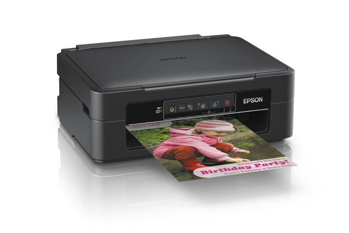 XP241 realizando impressão colorida