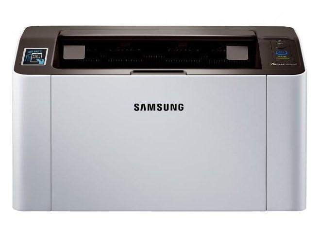 Visão frontal da Samsung M2020