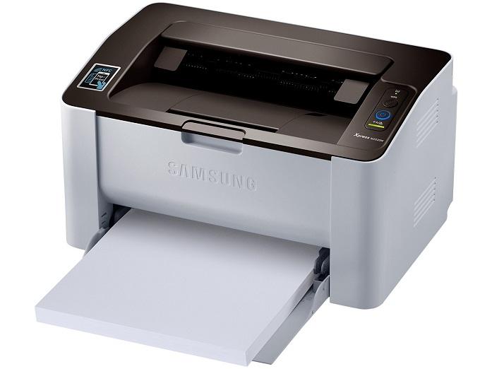 Rama de papel no compartimento de entrada da M2020
